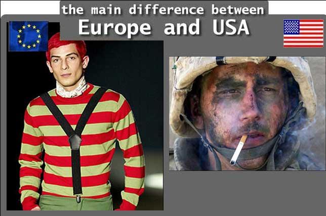 Usa vs europe dating