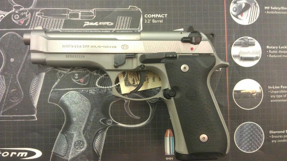 Beretta 92FS vs Taurus PT92, in Pictures  | Mad Ogre