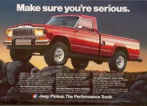 1980 Jeep truck
