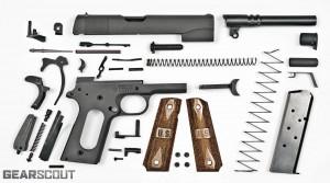 Springfield-M1911A1-GI-45-Explodedv11