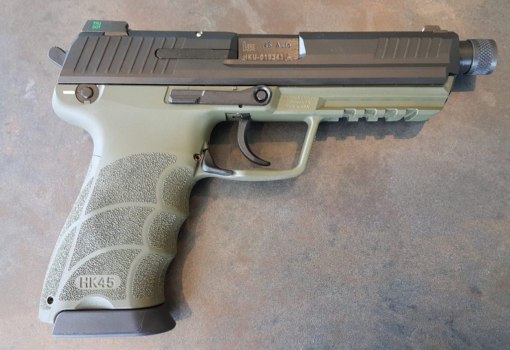 HK's HK45 Tactical | Mad Ogre